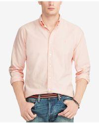 Polo Ralph Lauren - Pink Pony Classic Fit Shirt - Lyst