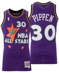 718033789 Mitchell   Ness - Scottie Pippen Nba All Star 1995 Swingman Jersey - Lyst
