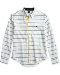 68cedb060498 Tommy Hilfiger - Alvin Contrast Shirt With Magnetic Buttons - Lyst