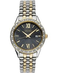 109b45c48 Seiko - Women's Special Value Two-tone Stainless Steel Bracelet Watch 28mm  - Lyst