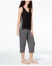 Alfani - Printed-panel Pajama Set, Created For Macy's - Lyst