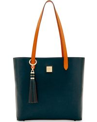 Dooney & Bourke - Hadley Coated Leather Tote - Lyst