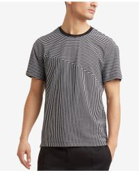 Kenneth Cole Reaction - Blocked Stripe T-shirt - Lyst