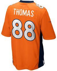 Nike - Men'S Demaryius Thomas Denver Broncos Game Jersey - Lyst
