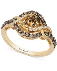 Le Vian - Chocolatier® Diamond Statement Ring (5/8 Ct. T.w.) In 14k Gold - Lyst