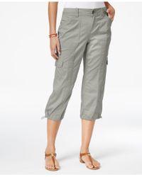 Style & Co. - Cargo Capri Pants - Lyst