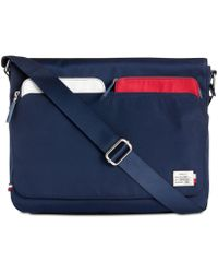 Lyst - Tommy Hilfiger Sport Eyelets - Ripstop Ny Messenger Bag in ... 0c8f4e153b034