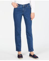 Charter Club - Petite Tummy Control Ankle-length Jeans, Created For Macy's - Lyst