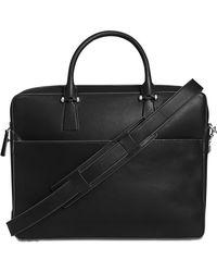 Cole Haan - Men's Washington Grand Leather Attache Case - Lyst