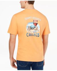 Tommy Bahama - Cab Legs Graphic-print T-shirt - Lyst