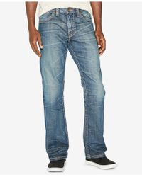 Silver Jeans Co. - Gordie Loose Fit Straight Leg Jeans - Lyst