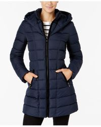 INC International Concepts | Layered Puffer Coat | Lyst