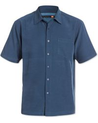 Quiksilver | Clear Days Solid Short-sleeve Shirt | Lyst