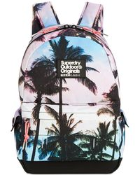 Superdry - Montana Photo-print Backpack - Lyst