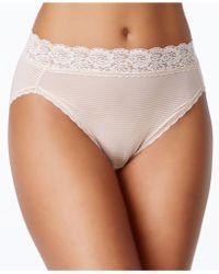 Vanity Fair - Body Caress Ultimate Comfort High Cut Brief 13280 - Lyst