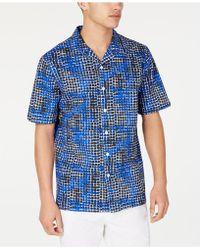 Sean John - Geometric Print Shirt - Lyst