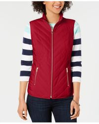 Charter Club - Quilted Puffer Vest, Created For Macy's - Lyst
