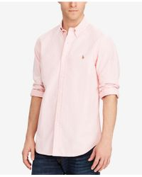 Polo Ralph Lauren | Solid Oxford Shirt | Lyst