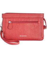 Giani Bernini - Leather Crossbody Wallet, Created For Macy's - Lyst