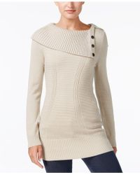 Style & Co. - Envelope-neck Sweater, Created For Macy's - Lyst