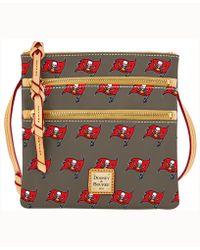 Dooney & Bourke - Tampa Bay Buccaneers Triple-zip Crossbody Bag - Lyst