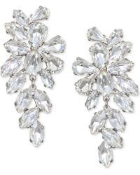 Badgley Mischka | Crystal Arch Drop Earrings | Lyst