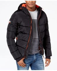 Superdry - Men's Hooded Camo Puffer Coat - Lyst
