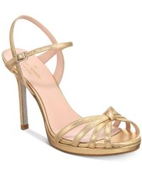 Kate Spade - Florence Strappy Evening Sandals - Lyst