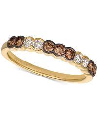 Le Vian - Diamond Bezel Ring (1/2 Ct. T.w.) In 14k Gold - Lyst