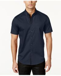 INC International Concepts - Men's Larento Stretch Shirt - Lyst