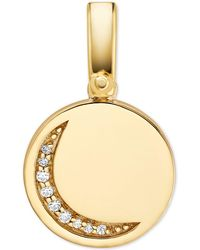 Michael Kors - Custom Kors 14k Gold-plated Sterling Silver Moon Charm - Lyst