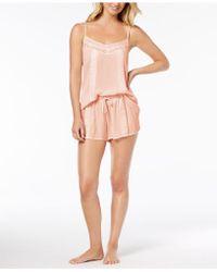 Linea Donatella - Day Dream Lace-trim Pyjama Short Set - Lyst