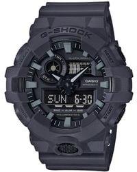 G-Shock - Men's Analog-digital Dark Grey Resin Strap Watch 53mm - Lyst