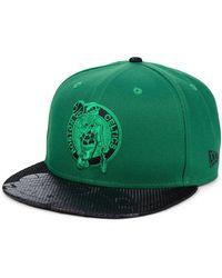 3a5392c4e Boston Celtics Pop Viz 9fifty Snapback Cap