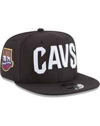 quality design daf5a ade1a KTZ Charlotte Hornets Anniversary Patch 9fifty Snapback Cap in Black for Men  - Lyst