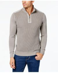 Tommy Bahama - Men's Coastal Shores Reversible Knit Quarter-zip Jumper - Lyst
