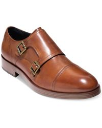 Cole Haan - Henry Grand Double-monk Strap Oxfords Created For Macy's - Lyst