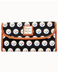 Dooney & Bourke - Pittsburgh Steelers Clutch - Lyst