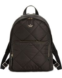 Kate Spade - Quilted Tech Large Backpack - Lyst