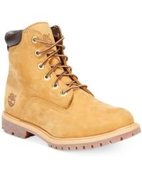Timberland - Waterville Premium Booties - A Macy's Exclusive - Lyst