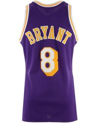 089f235266a Mitchell & Ness - Kobe Bryant Los Angeles Lakers Authentic Jersey - Lyst