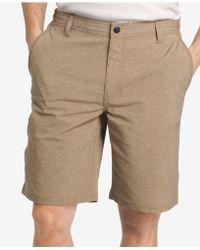G.H.BASS - Men's Performance Heathered Cotton Shorts - Lyst