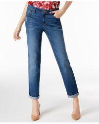 INC International Concepts - I.n.c. Cuffed Boyfriend Jeans, Created For Macy's - Lyst