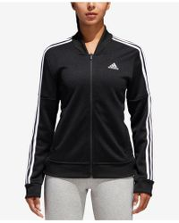 adidas - Tricot Snap Track Jacket - Lyst