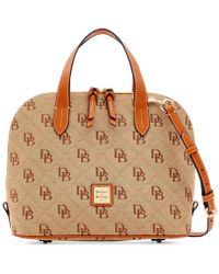 Dooney & Bourke - Signature Quilt Zip Zip Satchel, Created For Macy's - Lyst