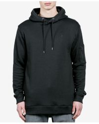 Volcom - Men's Somewhere Embroidered-logo Pullover Hoodie - Lyst