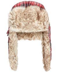 Woolrich - Men's Plaid Wool Trooper - Lyst