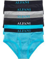 Alfani - Men's 5-pk. Cotton Briefs - Lyst