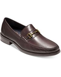 Cole Haan - Pinch Sanford Bit Leather Loafers - Lyst