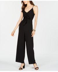 19 Cooper - Sleeveless Tie-front Jumpsuit - Lyst